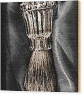 Waterford Crystal Shaving Brush 2 Wood Print