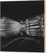 Waterford Crystal Shaving Brush Wood Print