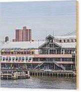 Waterfront 3 Wood Print