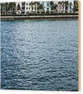 Waterfront Colors Wood Print