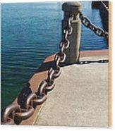 Waterfront Trail Wood Print
