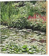 Waterlily Pond Giverney Wood Print