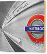 Waterloo Wood Print