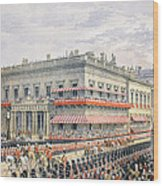 Waterloo Place And Pall Mall Wood Print