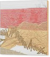 Watermarks Shoreline Wood Print