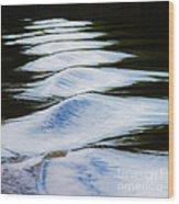 Watermountains Wood Print