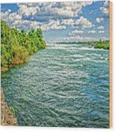 Waters Feeding Niagara Falls Wood Print