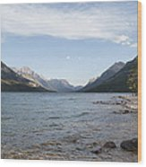 Waterton Lake Wood Print