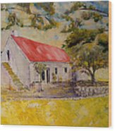 Waterval Farm Wood Print