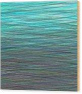 Watery Deep Wood Print