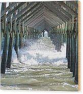 Watery Vision Wood Print