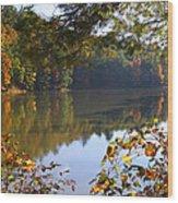 Watoga Lake Scene 1 Wood Print