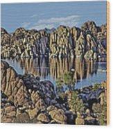 Watson Lake Wood Print