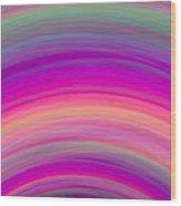 Wave-01 Wood Print