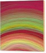 Wave-04 Wood Print