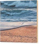 Wave After Wave Wood Print