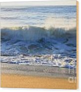 Wave Art Series 3 Wood Print