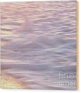 Wave Motion Wood Print