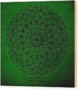Wave Particle Duality II Wood Print by Jason Padgett