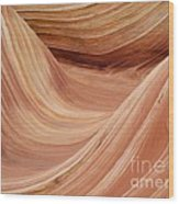 Wave Rock 3 At Coyote Buttes Wood Print