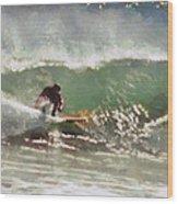 Wave Runner  Wood Print