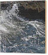 Wave Wood Print