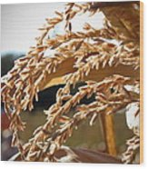 Waves Of Grain Wood Print