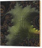 Waves Of Resonance Wood Print