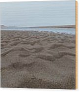 Waves Of Sand Wood Print
