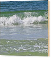 Waves Of The Gulf Of Mexico Wood Print