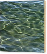 Waves On Lake Tahoe Wood Print