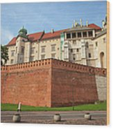 Wawel Royal Castle In Krakow Wood Print