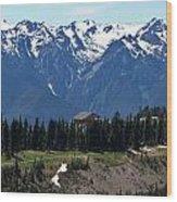 Way Up High - Hurricane Ridge - Washington Wood Print