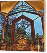 wayfarers Chapel 8 Wood Print