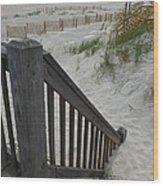 Ways To The Beach Series 4 Wood Print