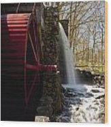 Wayside Grist Mill 2 Wood Print