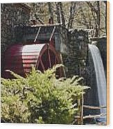 Wayside Grist Mill 3 Wood Print