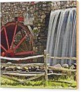 Wayside Grist Mill 4 Wood Print