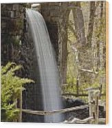 Wayside Grist Mill 7 Wood Print by Dennis Coates