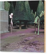 We Remember Wood Print by Gallery Nex
