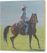 We Save Horses Three Wood Print