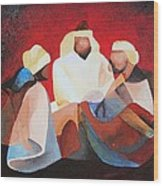 We Three Kings Wood Print