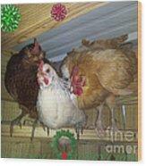 We Wish You A Merry Christmas Wood Print