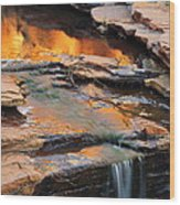 Weano Gorge - Karijini Np 2am-111671 Wood Print