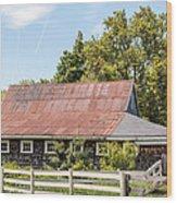 Weathered Barn Wood Print