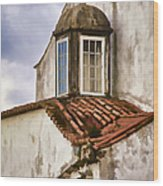 Weathered Building Of Medieval Europe Wood Print