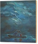 Weathering The Storm Wood Print