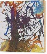 Web Of Life Wood Print