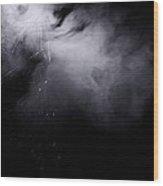 Web Of Smoke Wood Print