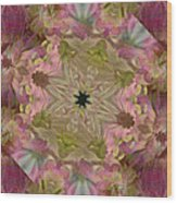 Wedding Bell Pink Daisies Wood Print